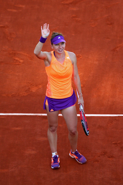 Simona Halep - French Open: Day 12