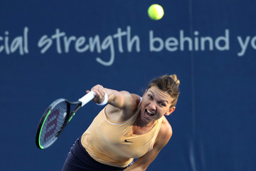 Simona Halep Western And Southern Open - Day 6