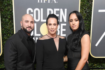Simone Garcia Johnson 75th Annual Golden Globe Awards - Arrivals