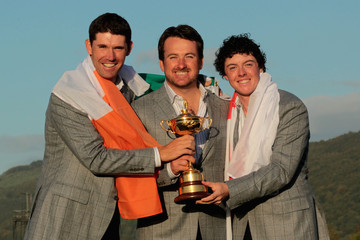 Rory McIlroy Graeme McDowell Singles Matches-2010 Ryder Cup