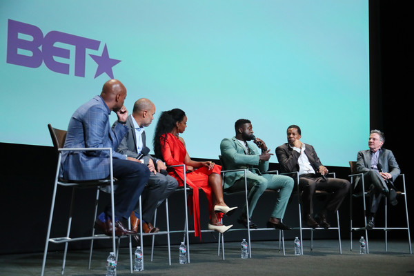 "BET's ""American Soul"" Emmy FYC Screening Event [red,product,event,youth,convention,table,design,conversation,technology,adaptation,audience,kevin frazier,tony cornelius,jonathan prince,sinqua walls,kelly rowland,jesse collins,north hollywood,bet,american soul emmy fyc screening event]"