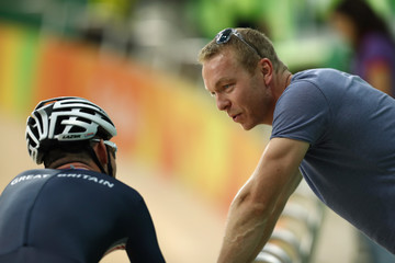 Sir Chris Hoy Around the Games - Olympics: Day 4