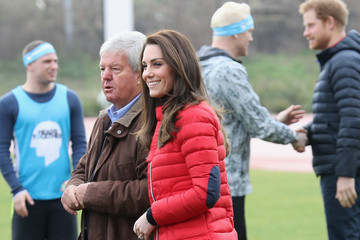 Sir Keith Mills The Duke & Duchess of Cambridge and Prince Harry Join Team Heads Together at a London Marathon Training Day