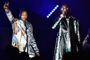 2 Chainz (R) and YG perform during Sir Lucian Grainge's 2019 Artist Showcase Presented by Citi at The Row on February 9, 2019 in Los Angeles, California.