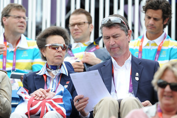 Sir Tim Laurence Olympics Day 4 - Equestrian