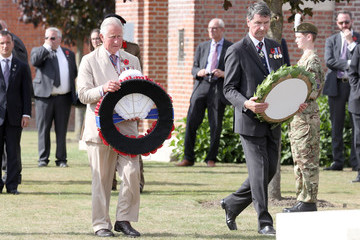 Sir Timothy Laurence Members Of The Royal Family Attend The Passchendaele Commemorations In Belgium