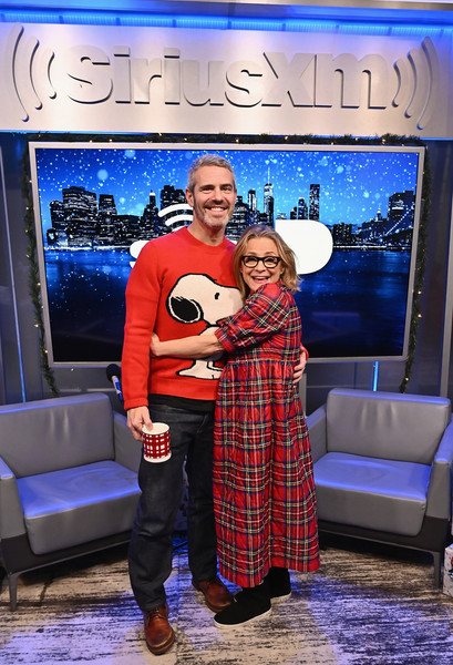 SiriusXM's Annual Radio Andy Holiday Hangout With Andy Cohen And Amy Sedaris