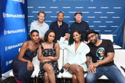 James Remar, Damon Gupton, Krondon, Marvin Jones III, Christine Adams, China Anne McClain, Nafessa Williams and Cress Williams attend SiriusXM's Entertainment Weekly Radio Broadcasts Live From Comic Con in San Diego at Hard Rock Hotel San Diego on July 20, 2018 in San Diego, California.
