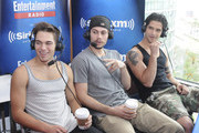 Actors Cody Saintgnue, Dylan Sprayberry and Tyler Posey attend SiriusXM's Entertainment Weekly Radio Channel Broadcasts From Comic-Con 2015 at Hard Rock Hotel San Diego on July 9, 2015 in San Diego, California.