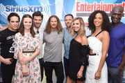 Yul Vazquez, Dylan Bruce, Jason Lewis, Arielle Kebbel, Francois Arnaud, Parisa Fitz-Henley and Peter Mensah attend SiriusXM's Entertainment Weekly Radio Channel Broadcasts From Comic Con 2017 at Hard Rock Hotel San Diego on July 21, 2017 in San Diego, California.