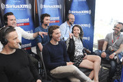 Actors Dylan Bruce, Kristian Bruun, Jordan Gavaris, Ari Millen and Tatiana Maslany and co-creator of Orphan Black Graeme Manson attend SiriusXM's Entertainment Weekly Radio Channel Broadcasts From Comic-Con 2015 at Hard Rock Hotel San Diego on July 10, 2015 in San Diego, California.