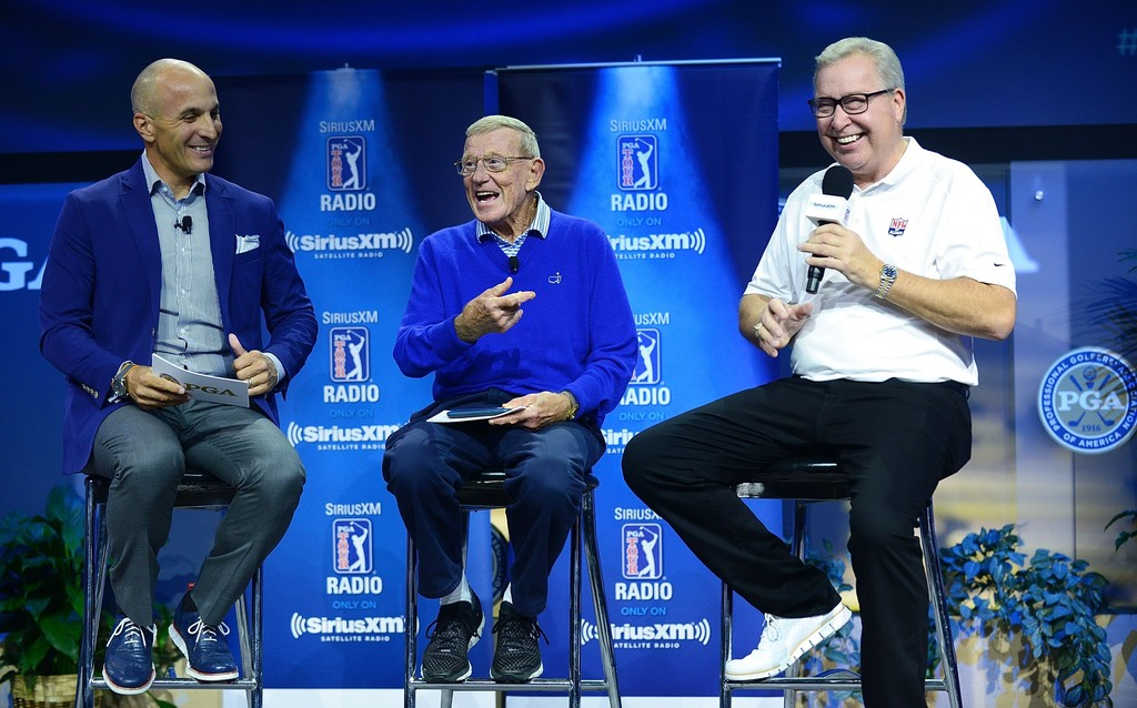 ron jaworski photos photos - siriusxm pga tour radio at 2018 pga merchandise show - day 2