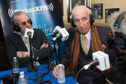 Danny Aiello and Gay Talese attend the SiriusXM Sinatra 100 celebration at Patsy's on December 12, 2015 in New York City.