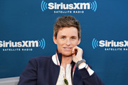 """Actor Eddie Redmayne takes part in SiriusXM's Town Hall with the cast of """"Fantastic Beasts:The Crimes Of Grindelwald' on Entertainment Weekly Radio hosted by Jess Cagle at the SiriusXM Studio on November 5, 2018 in New York City."""