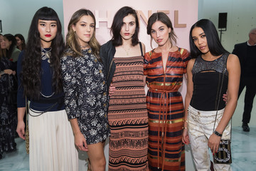 Sistine Stallone Langley Fox CHANEL Opens 2nd U.S. Ephemeral Boutique at Nordstrom Downtown Seattle