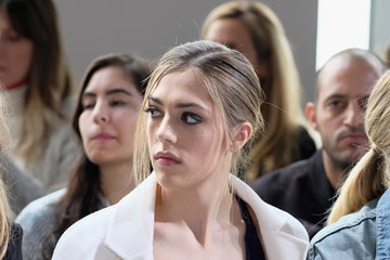 Sistine Stallone Michael Kors Collection Fall 2017 Runway Show - Front Row