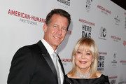 Host James Denton and author Candy Spelling attend the Sixth Annual American Humane Association Hero Dog Awards at The Beverly Hilton Hotel on September 10, 2016 in Beverly Hills, California.