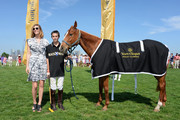 Delfina Blaquier and Hilario Figueras attend the sixth annual Veuve Clicquot Polo match Classic on June 1, 2013 in Jersey City.