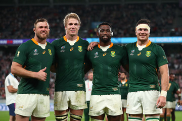 Siya Kolisi Japan v South Africa - Rugby World Cup 2019: Quarter Final