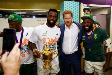 Siya Kolisi European Best Pictures Of The Day - November 02, 2019