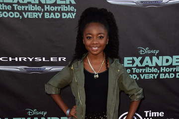 Skai Jackson 'Alexander and the Terrible, Horrible, No Good, Very Bad Day' Premiere — Part 2