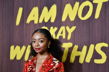 "Skai Jackson Netflix's ""I Am Not Okay With This"" Photocall"