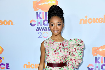 Skai Jackson Nickelodeon's 2017 Kids' Choice Awards - Arrivals