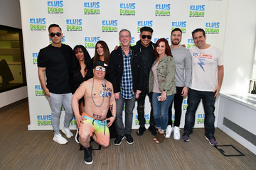 Skeery Jones Cast Of 'Jersey Shore Family Vacation' Visits 'The Elvis Duran Z100 Morning Show'