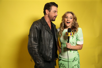 Skeet Ulrich Madchen Amick 2018 WIRED Cafe At Comic-Con Presented By AT&T Audience Network - Day 3