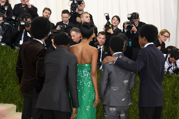 Skylan Brooks. Tremaine Brown Jr 'Manus x Machina: Fashion In An Age of Technology' Costume Institute Gala - Arrivals