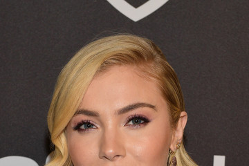 Skyler Samuels The 2019 InStyle And Warner Bros. 76th Annual Golden Globe Awards Post-Party - Red Carpet