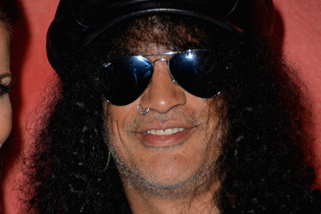Slash Arrivals at the MusiCares MAP Fund Benefit Concert