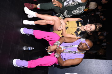 Slick Rick Desigual - Front Row - September 2017 - New York Fashion Week: The Shows