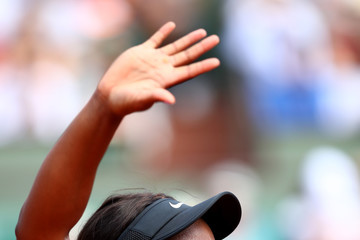 Sloane Stephens 2018 French Open - Day Eight