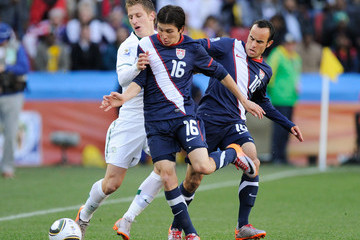 Francisco Torres Slovenia v USA: Group C - 2010 FIFA World Cup