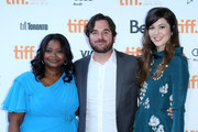 """(L-R) Actress Octavia Spencer, director James Ponsoldt, and actress Mary Elizabeth Winstead attend the """"Smashed"""" premiere during the 2012 Toronto International Film Festival at Ryerson Theatre on September 12, 2012 in Toronto, Canada."""