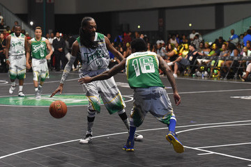 Snoop Dogg Celebrities Basketball Game in LA