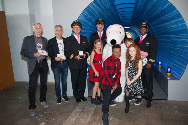 20th Century Fox and Delta Airlines Celebrate 'Snoopy' and Co. Receiving His Pilot's 'Wings'