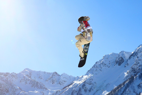 "American Sage Kotsenburg busted out a ""Holy Crail"" at the Men's Snowboard Slopestyle Final..."