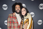 "Daveed Diggs and Lena Hall attend the ""Snowpiercer"" Panel & Reception at Firewood on January 25, 2020 in Park City, Utah."