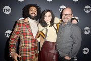 "Daveed Diggs, Lena Hall and Graham Manson attend the ""Snowpiercer"" Panel & Reception at Firewood on January 25, 2020 in Park City, Utah."