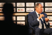 Gerard Houllier, Red Bull Head of Global Football talks during day 1 of the Soccerex Global Convention 2016 at Manchester Central Convention Complex on September 26, 2016 in Manchester, England.