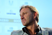 Former England and Arsenal player Tony Adams talks about 'Sporting Chance' during day four of the Soccerex - Manchester Convention at Manchester Centralon September 8, 2015 in Manchester, England.