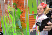 Social Influencer, Nickelodeon Star JoJo Siwa, at the Nickelodeon Booth at VidCon 2017