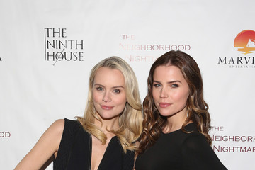 Sofia Mattsson Red Carpet Screening Of MarVista Entertainments 'The Neighborhood Nightmare'