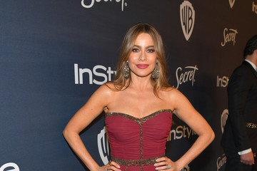 Sofia Vergara The 2020 InStyle And Warner Bros. 77th Annual Golden Globe Awards Post-Party - Red Carpet