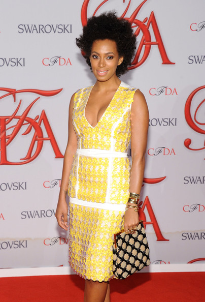 Solange Knowles - 2012 CFDA Fashion Awards - Arrivals
