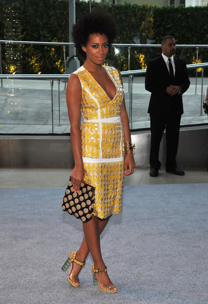 Solange Knowles - 2012 CFDA Fashion Awards - Cocktails