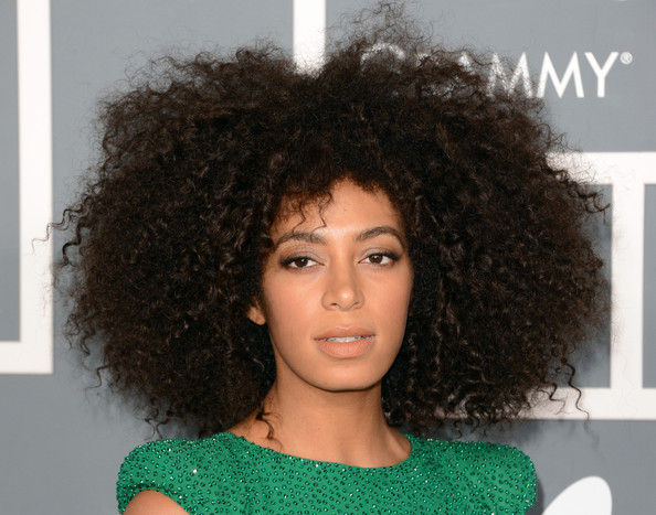 Solange Knowles - The 55th Annual GRAMMY Awards - Arrivals