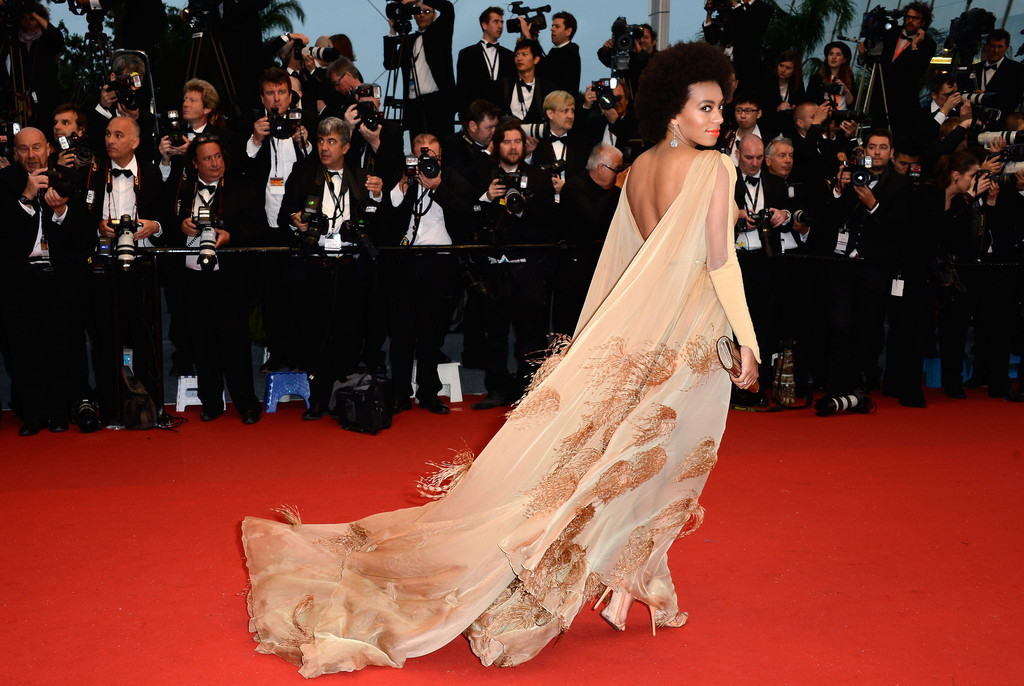 Solange Knowles - Arrivals at the Cannes Opening Ceremony — Part 3